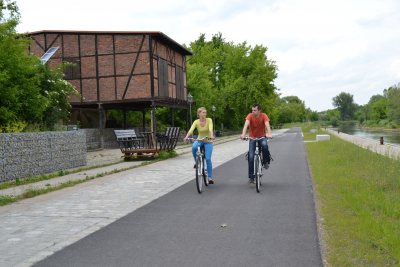 Bicycle trips within the area of Guben and Gubin